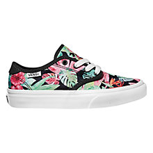 Buy Vans Children's Camden Floral Trainers, Multi Online at johnlewis.com