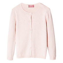 Buy Mango Kids Girls' Embossed Spot Cardigan Online at johnlewis.com