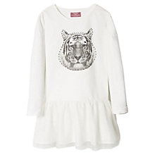 Buy Mango Kids Girls' Lion Motif Tulle Dress Online at johnlewis.com