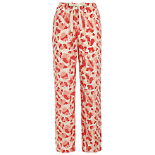 Buy Calvin Klein Cheetah Print Pyjama Pants, Pink Online at johnlewis.com