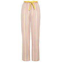 Buy Calvin Klein Lexington Stripe Pyjama Pants, Pink Online at johnlewis.com