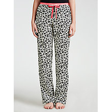 Buy Calvin Klein Geo Floral Pyjama Pants, Black Online at johnlewis.com