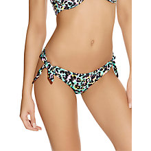 Buy Freya Malibu Tie Side Bikini Briefs, Mint Online at johnlewis.com