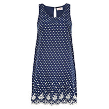 Buy Louche Sweetpea Print Dress, Navy Online at johnlewis.com