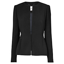 Buy L.K. Bennett Jessa Jacket, Black Online at johnlewis.com