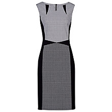 Buy Betty Barclay Textured Sleeveless Dress, Black/White Online at johnlewis.com
