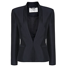 Buy L.K. Bennett Eda Event Jacket, Dark Navy Online at johnlewis.com