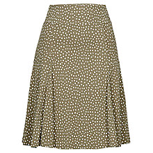 Buy Betty Barclay Spot Pull On Skirt, Khaki / Cream Online at johnlewis.com