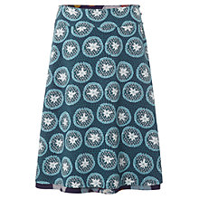Buy White Stuff Longboat Reversible Skirt, Deep Purple Pansy Online at johnlewis.com