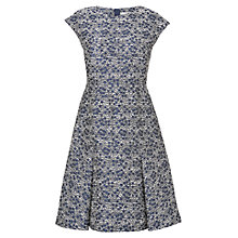 Buy L.K. Bennett Alton Skirted Dress, Navy/Cream Online at johnlewis.com
