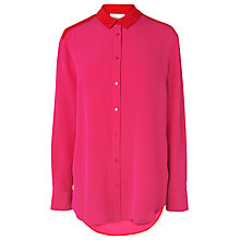 Buy L.K. Bennett Sherry Oversized Shirt, Pink Online at johnlewis.com