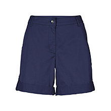 Buy Betty Barclay Rolled Hem Shorts, Night Sky Online at johnlewis.com