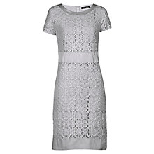 Buy Betty Barclay Flower Lace Dress, Silver Stone Online at johnlewis.com
