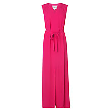 Buy L.K. Bennett Brinda Crepe Maxi Dress, Power Pink Online at johnlewis.com