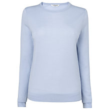 Buy L.K. Bennett Bresto Wool Jumper, Powder Blue Online at johnlewis.com