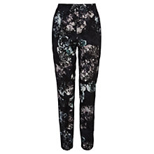 Buy Coast Kunis Trousers, Black Online at johnlewis.com