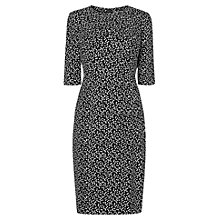 Buy L.K. Bennett Yolanda Printed Dress, Cream/Black Online at johnlewis.com
