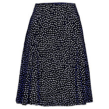 Buy Betty Barclay Spot Pull On Skirt, Dark Blue/Cream Online at johnlewis.com