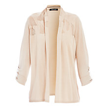 Buy Betty Barclay Geometric Edge-to-Edge Cardigan, Desert Beige Online at johnlewis.com