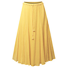 Buy East Crinkle Cotton Skirt Online at johnlewis.com