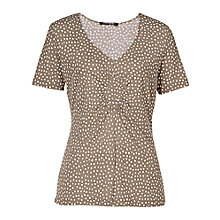 Buy Betty Barclay Spot Print Diamond Ruched Top Online at johnlewis.com