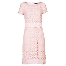 Buy Betty Barclay Flower Lace Dress, Light Rose Online at johnlewis.com