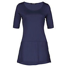 Buy Betty Barclay Satin Hem Tunic Top, Night Sky Online at johnlewis.com