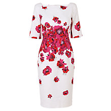 Buy L.K. Bennett Lasana Printed Dress, Pink Online at johnlewis.com