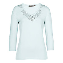 Buy Betty Barclay Stud Pattern Neck Top Online at johnlewis.com