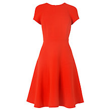 Buy L.K. Bennett Eugenia Skirted Dress, Salsa Red Online at johnlewis.com