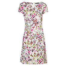 Buy Betty Barclay Flower Print Dress, Rose Online at johnlewis.com