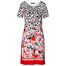 Buy Betty Barclay Animal Floral Dress, Multi Online at johnlewis.com