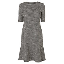 Buy L.K. Bennett Cynthia Tweed Dress, Black Online at johnlewis.com