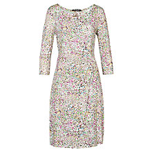 Buy Betty Barclay Floral Print Wrap Dress, Varicolored Online at johnlewis.com