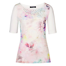 Buy Betty Barclay Round Neck T-Shirt, Multi Online at johnlewis.com