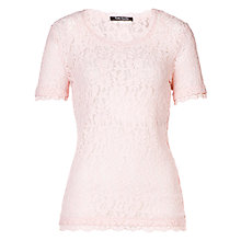 Buy Betty Barclay Short Sleeve Scoop Neck Lace Top Online at johnlewis.com
