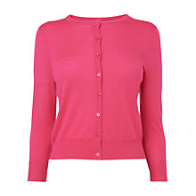 Buy L.K. Bennett Bonnie Crew Neck Cardigan Online at johnlewis.com