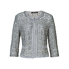 Buy Betty Barclay Round Neck Jacket, Silver Stone Online at johnlewis.com