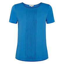 Buy Hobbs Ali Top, Cornflower Online at johnlewis.com