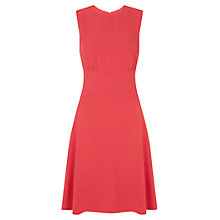 Buy Hobbs Elle Dress, Geranium Pink Online at johnlewis.com