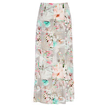 Buy Betty Barclay Flower Skirt, Grey / Rose Online at johnlewis.com