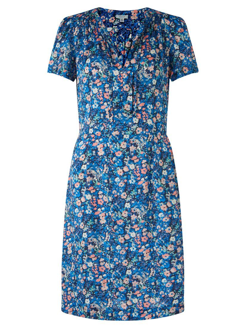 jigsaw spring bloom tea dress multi, jigsaw, spring, bloom, tea, dress, multi, 8|14|10|12|16, women, womens dresses, new in clothing, brands a-k, jigsaw clothing & accessories, jigsaw womenswear, 1843321