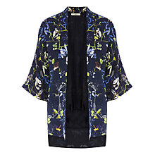 Buy Oasis Kimono Jacket, Navy Online at johnlewis.com