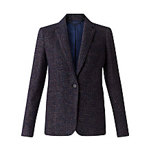 Buy Jigsaw Paris Fit Wool Jacket, Blackberry Online at johnlewis.com