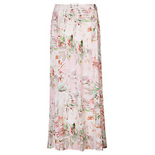 Buy Betty Barclay Flower Print Panel Skirt, Rose/Grey Online at johnlewis.com