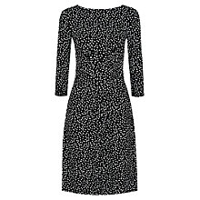 Buy Hobbs Melinda Dress, Black/Ivory Online at johnlewis.com