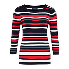 Buy Viyella Block Stripe Jumper, Multi Online at johnlewis.com