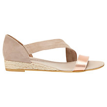 Buy Mint Velvet Ella Suede Espadrille Sandals Online at johnlewis.com
