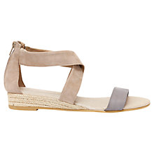 Buy Mint Velvet India Suede Espadrille Sandals Online at johnlewis.com