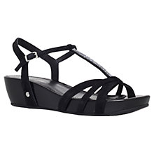 Buy Carvela Comfort Solar Suede Wedge Sandals Online at johnlewis.com